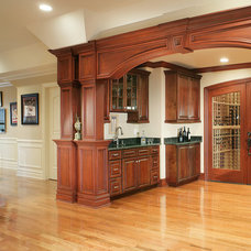 Traditional Wine Cellar by Creative Design Construction, Inc.