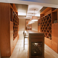 contemporary wine cellar by Aurelio Vazquez