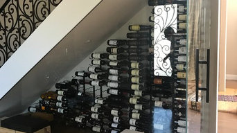 Under Stair Glass Wine Storage - Cooling System