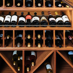 Under Stairs Wine Cellar