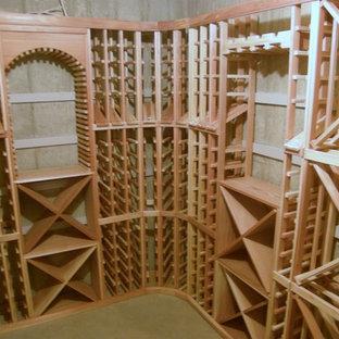 Inspiration for a modern wine cellar remodel in Salt Lake City