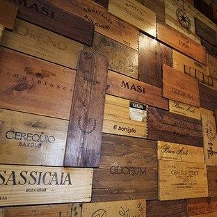 Wine Crate Panels Houzz
