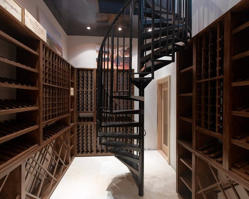 Two Toned Wood Floor Wine Cellar Design Ideas Renovations
