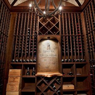 Cette photo montre une cave à vin méditerranéenne.