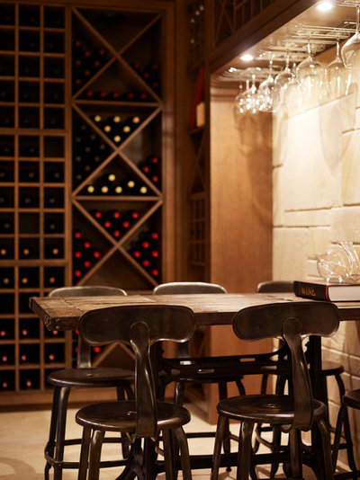 Contemporary Wine Cellar by TKD Architects