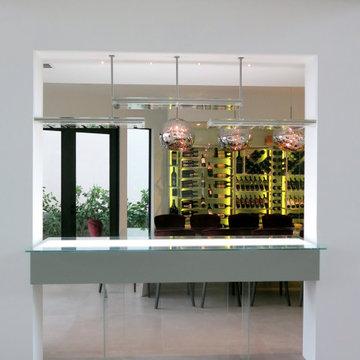 Venetian Wine Room Tasting Counter