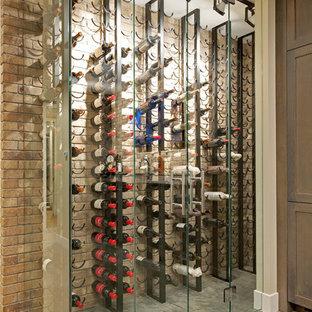 Idéer för funkis vinkällare, med vinhyllor