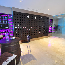 contemporary wine cellar by FOC Design