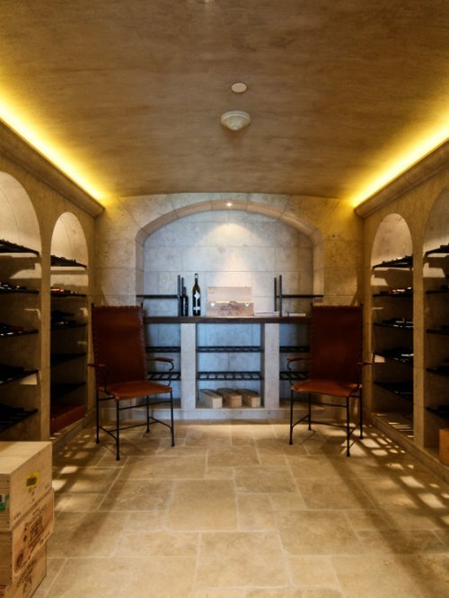 Vin de Garde Custom Modern Wine Cellar Designs (Arches)