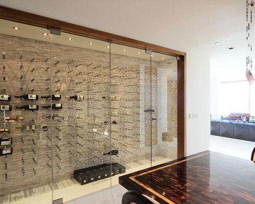vin de garde custom modern wine cellar nek rite series glass. Black Bedroom Furniture Sets. Home Design Ideas