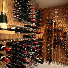 modern wine cellar by Vin de Garde MODERN WINE CELLARS Inc.