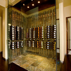 Contemporary Wine Cellar by Heritage Vine LLC