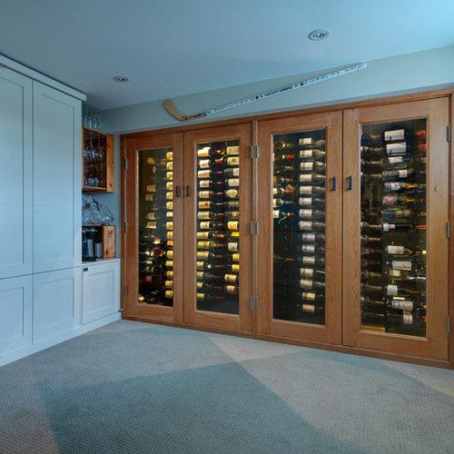 photos et id es d co de caves vin de taille moyenne petit budget. Black Bedroom Furniture Sets. Home Design Ideas