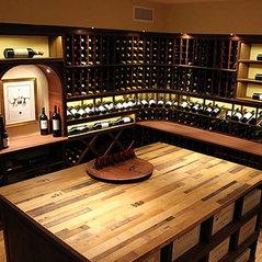 Large Custom Wine Cellars