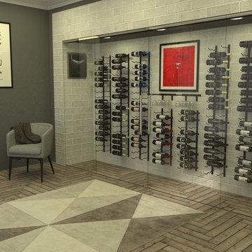 VintageView Modern Wine Cellar