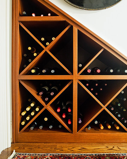 traditional wine cellar by Rightwise