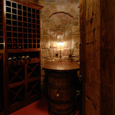 Wine Cellar by Baratto Brothers Construction