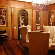Traditional Wine Cellar by Heritage Vine LLC