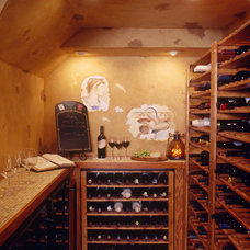 Mediterranean Wine Cellar by Marlene Wangenheim AKBD, CAPS, Allied Member ASID