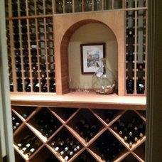 Contemporary Wine Cellar by WineRacks.com