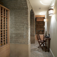 Traditional Wine Cellar by Matiz Architecture & Design