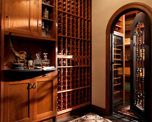 Mediterranean Wine Cellar Design Ideas Renovations
