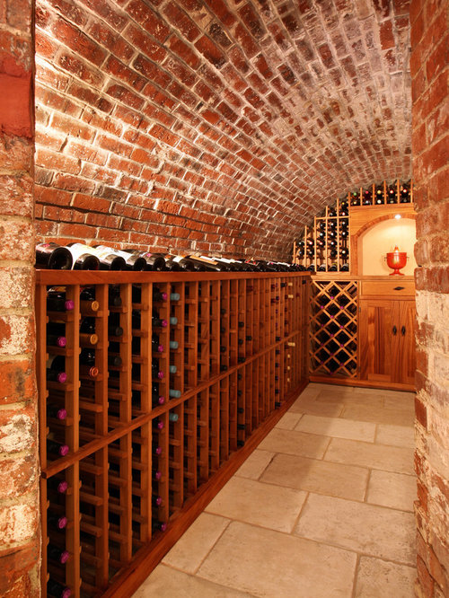 Rustic Wine Cellar Design Ideas Remodels Photos