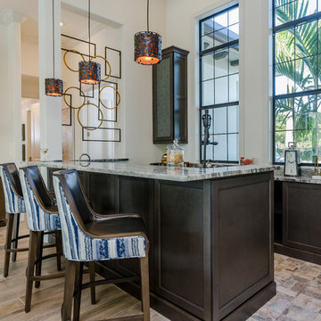 West Indies inspired Contemporary custom home