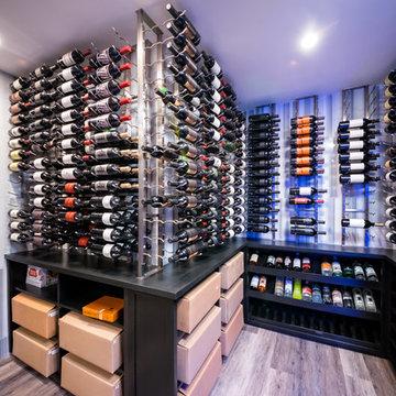 Westfield,NJ Modern Wine Room