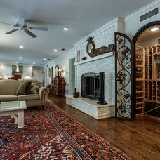 Traditional Wine Cellar by The Vaughan Group
