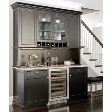 Traditional Wine Cellar Wet Bar