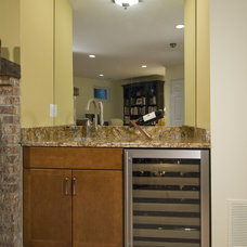 Wine Cellar by Summit Design Remodeling, LLC