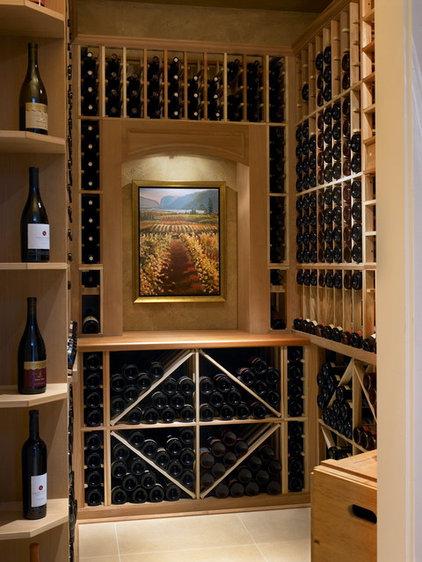 Contemporary Wine Cellar by Claudia Leccacorvi