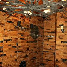 Traditional Wine Cellar by McKay Flooring Ltd