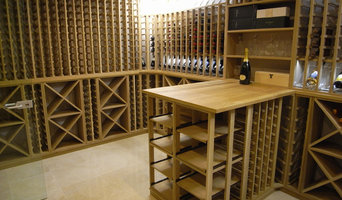 'White American Oak' basement cellar