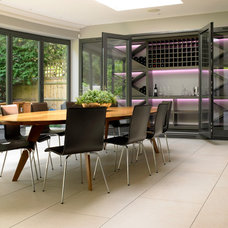 Contemporary Wine Cellar by Brayer Design