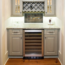 Traditional Wine Cellar by Pacifica Tile Art Studio