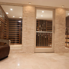 Contemporary Wine Cellar by Classic Cellar Design