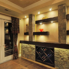 Traditional Wine Cellar by Morse Remodeling, Inc. and Custom Homes