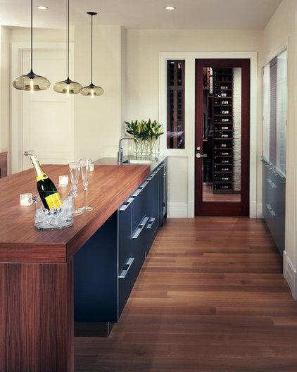 Modern Wine Cellar by bulthaup Denver