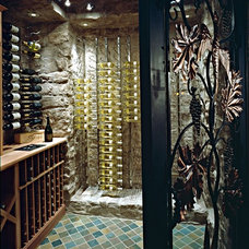 Contemporary Wine Cellar by Superior Moulding of Nevada