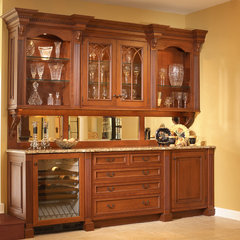 traditional wine cellar by Normandy Remodeling