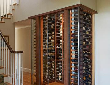 Wine Cabinet in Tiburon, CA