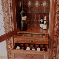 Eclectic Wine Cellar by Benvenuti and Stein