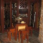 Short Hills Wine Cellar - Traditional - Wine Cellar - New York - by Washington Valley Cellars