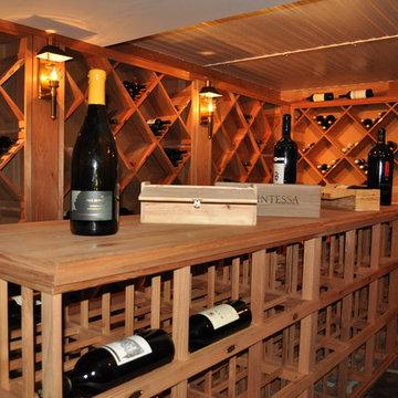 Wine Cellar and Cigar Lounge