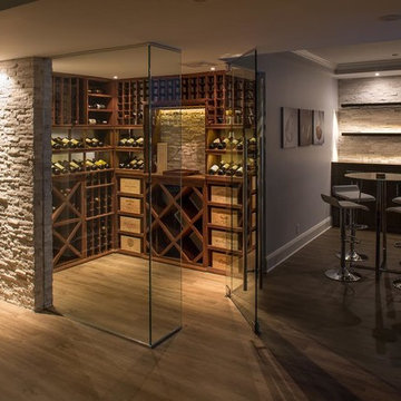 Wine Cellar and Living Space Renovation