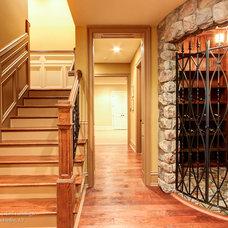 Traditional Wine Cellar by RealTourCast | Tim Furlong Jr.