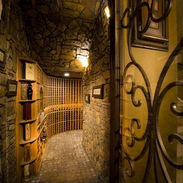Wine Cellar | Anthem | 03101 by Pinnacle Architectural Studio