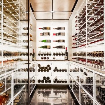 Wine Cellar: Architectural Digest Feature December 2018 Issue